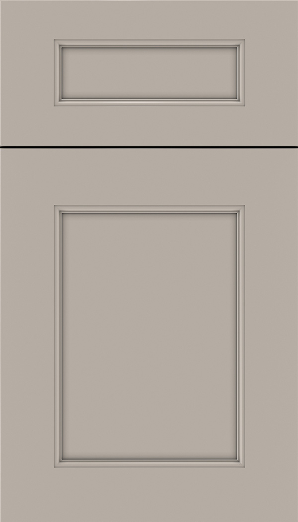 Lexington 5pc Maple recessed panel cabinet door in Nimbus