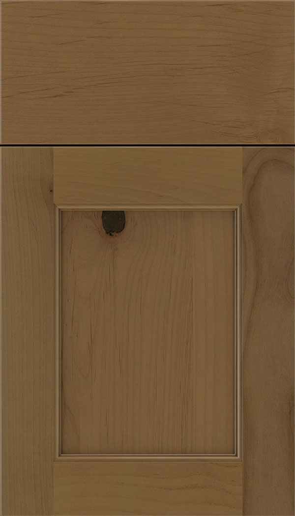 Lexington Alder recessed panel cabinet door in Tuscan