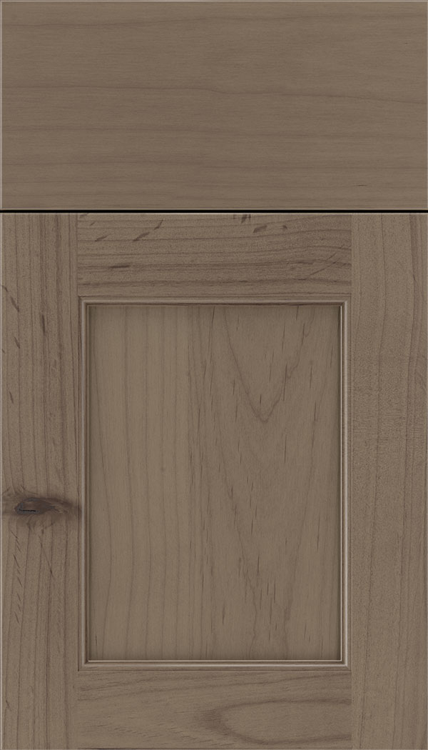 Lexington Alder recessed panel cabinet door in Winter