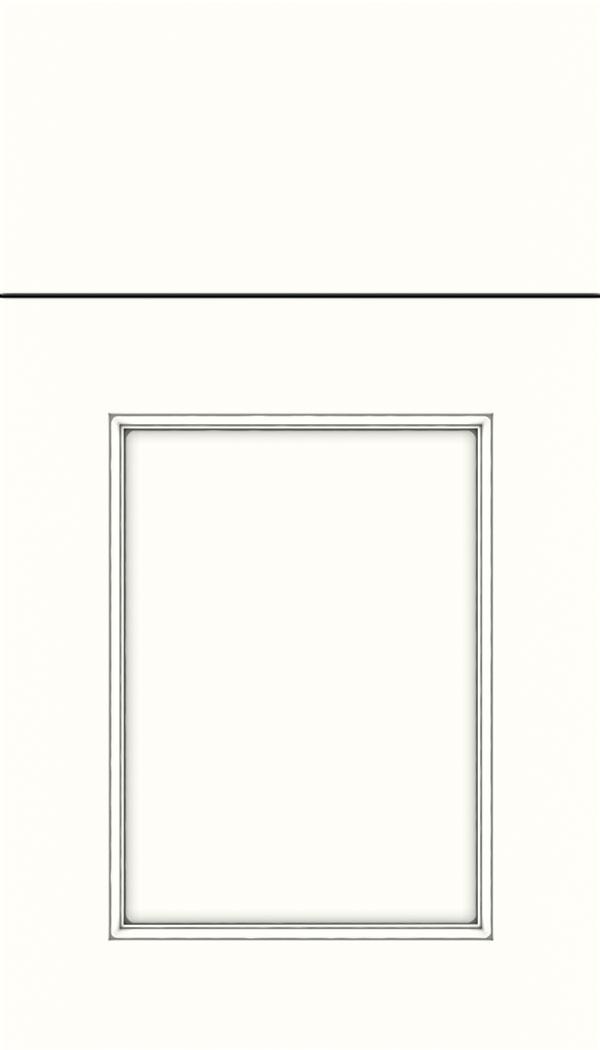 Elan; Lexington Maple Recessed Panel Cabinet Door In Alabaster With Pewter  Glaze