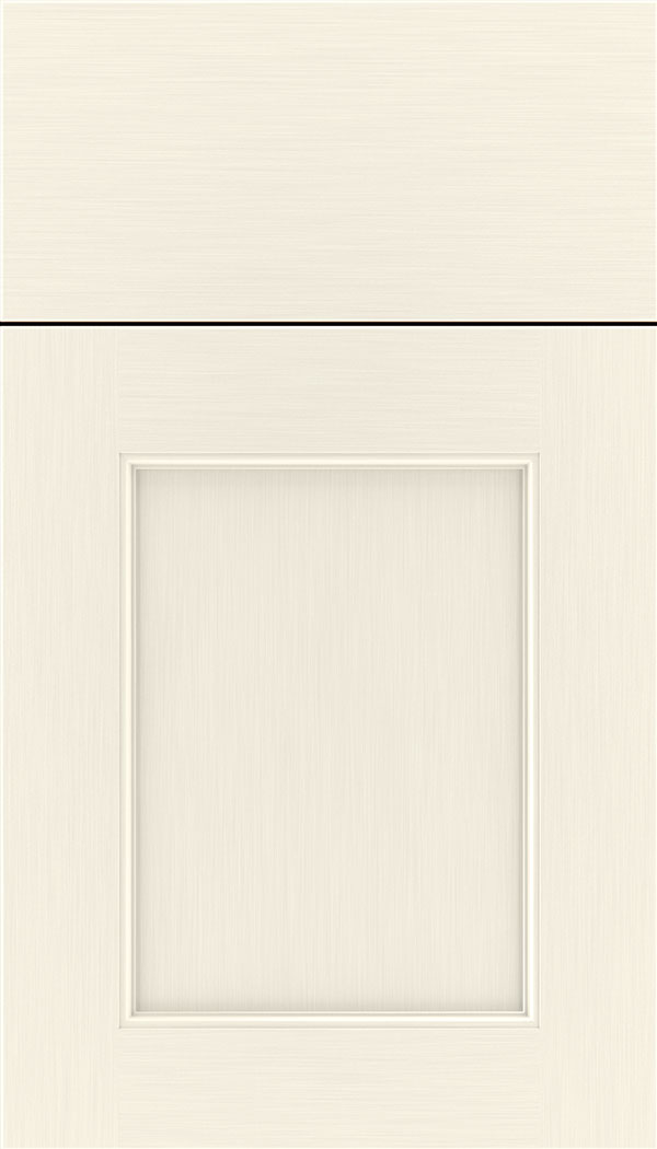 Lexington Maple recessed panel cabinet door in Millstone