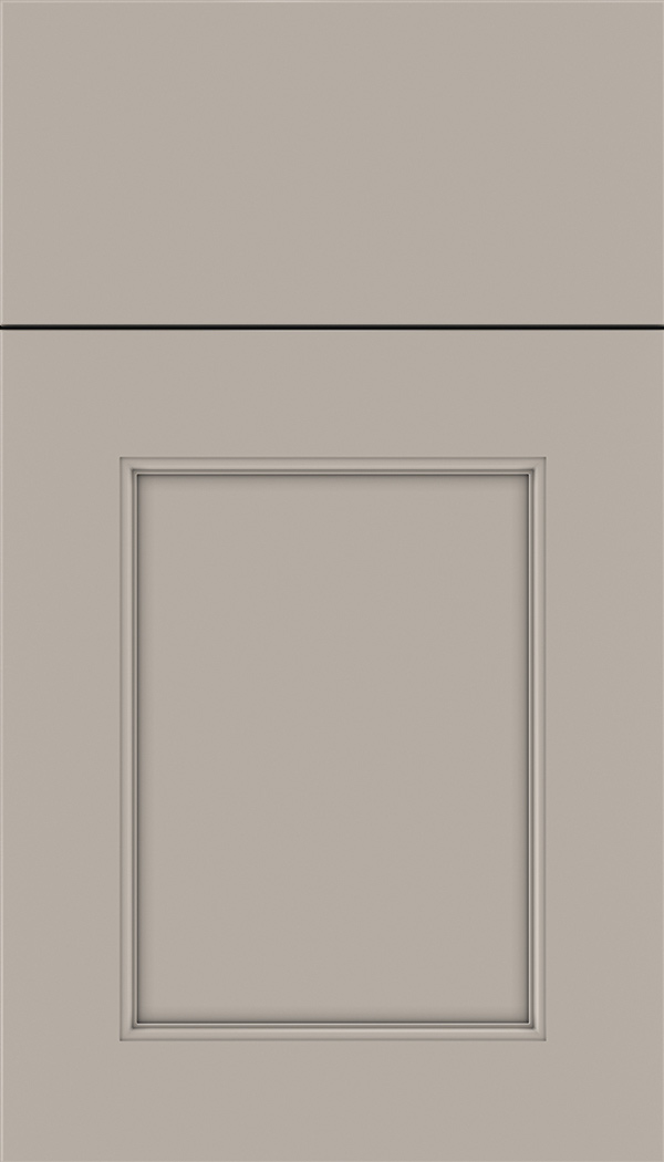 Lexington Maple recessed panel cabinet door in Nimbus
