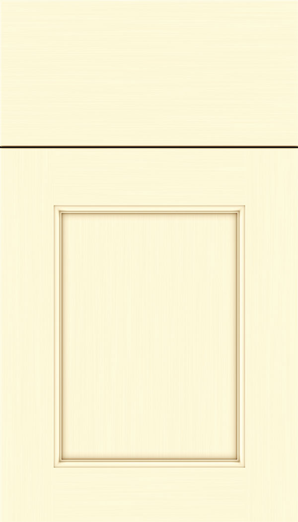 Lexington Maple recessed panel cabinet door in Palomino
