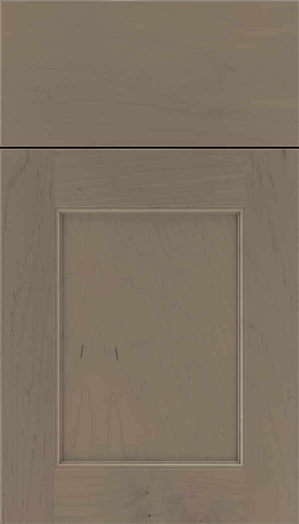 Lexington Maple recessed panel cabinet door in Winter