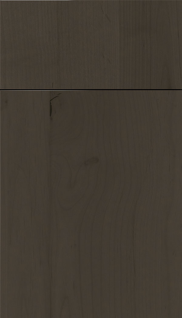Lockhart Alder slab cabinet door in Thunder