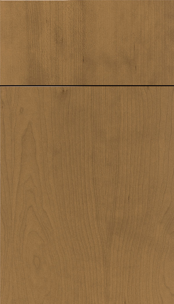 Lockhart Cherry slab cabinet door in Tuscan