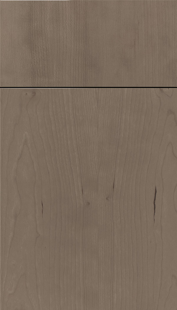 Lockhart Cherry slab cabinet door in Winter