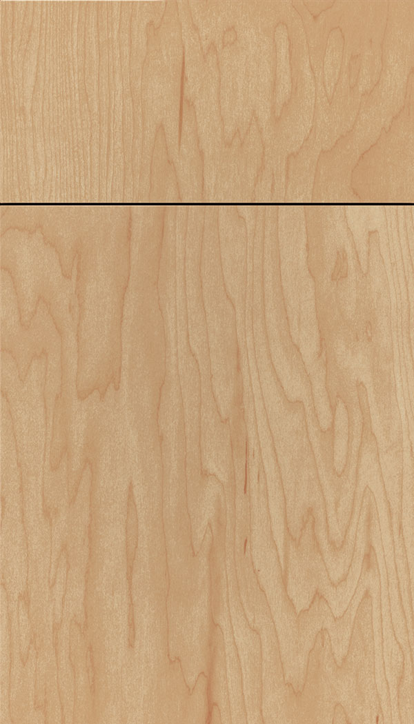 Lexington; Lockhart Maple Slab Cabinet Door In Natural