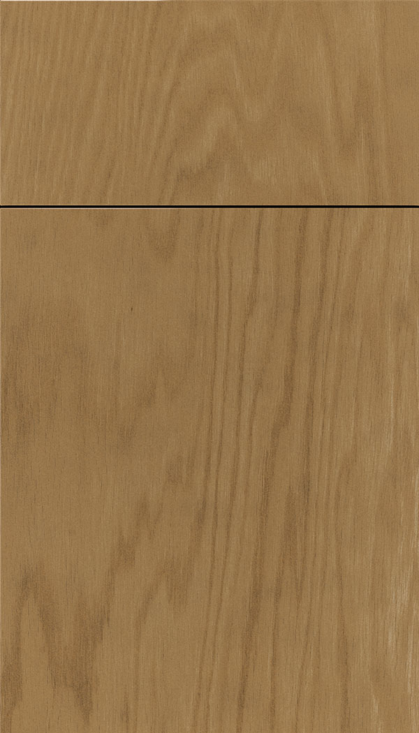 Lockhart Oak slab cabinet door in Tuscan