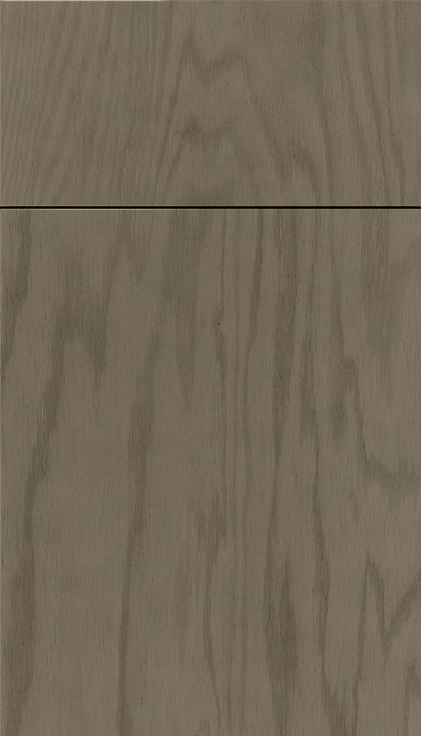 Lockhart Oak slab cabinet door in Winter