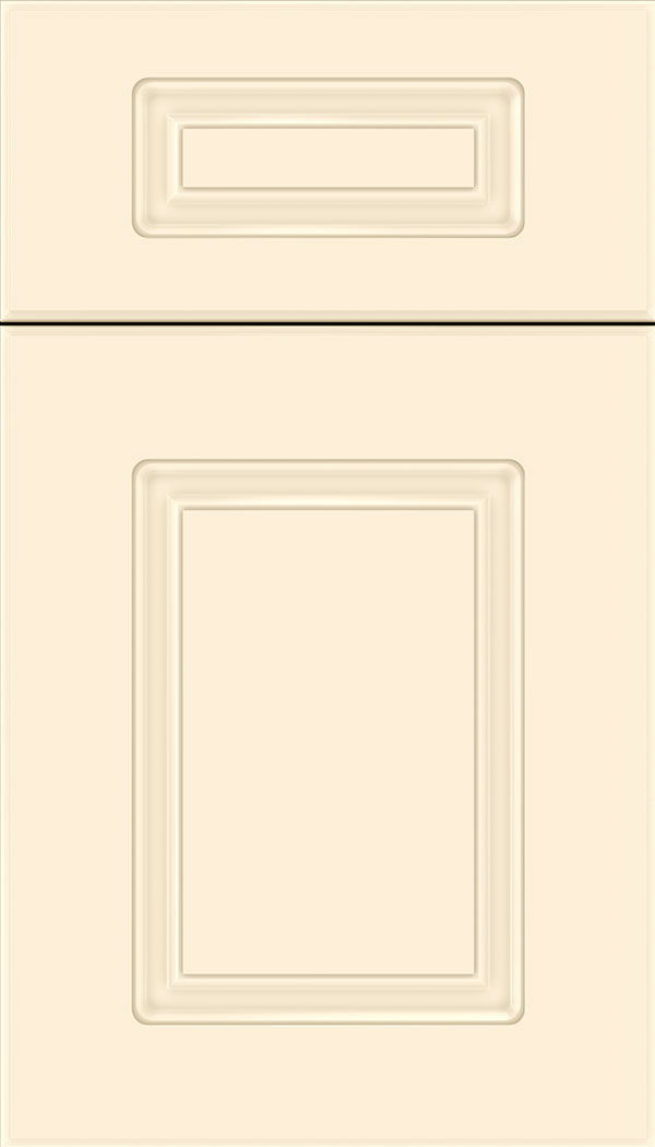 Manchester 5pc Thermofoil cabinet door in Satin Antique