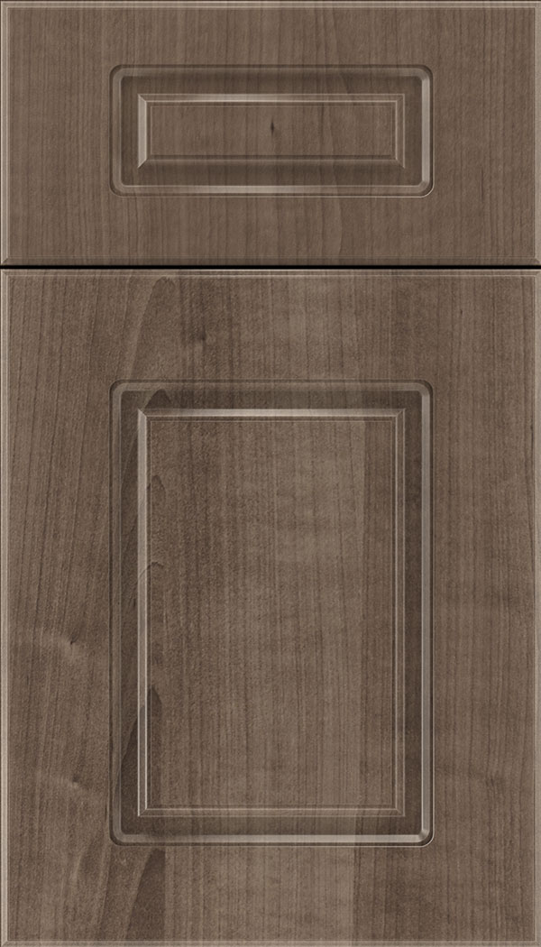 Manchester 5pc Thermofoil cabinet door in Warm Walnut