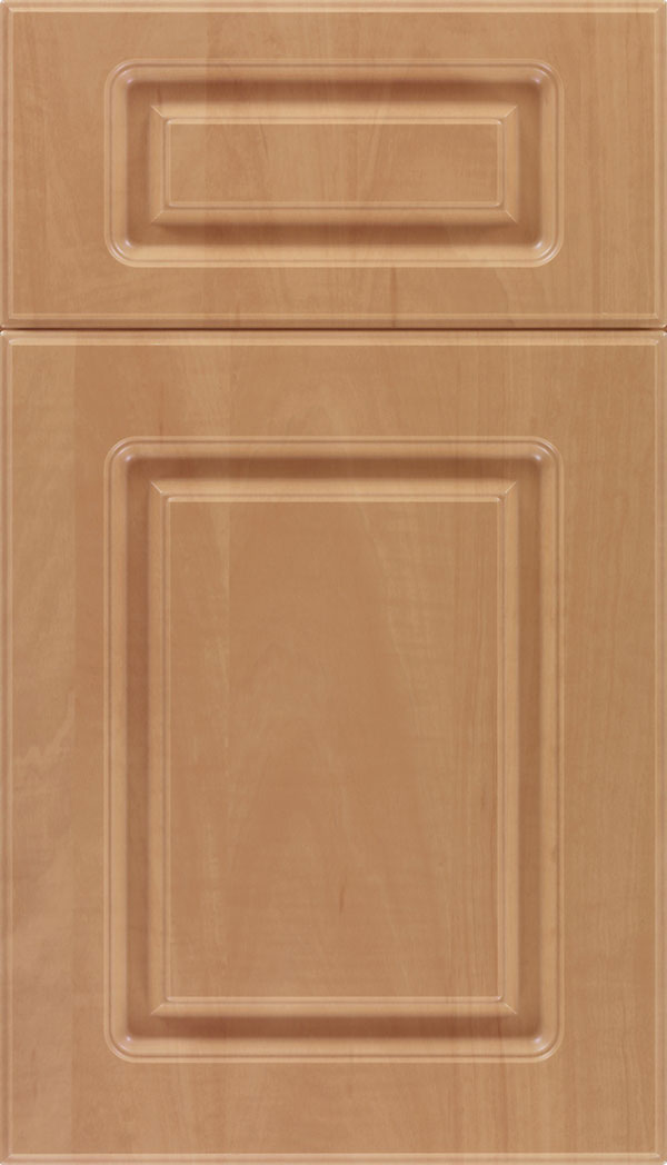 Manchester 5-Piece Thermofoil cabinet door in Woodgrain Chardonnay