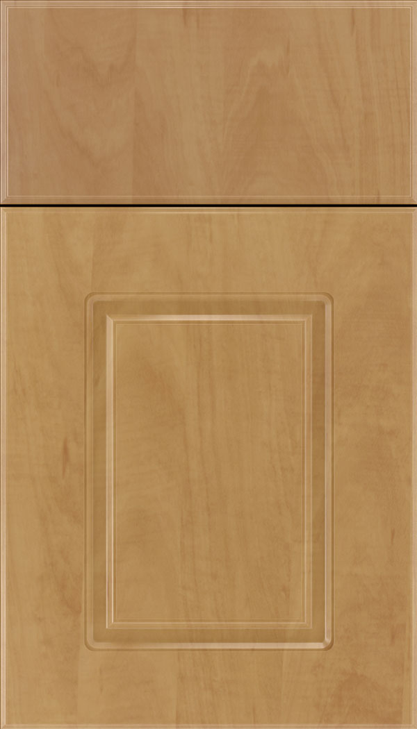 Manchester Thermofoil cabinet door in Chardonnay