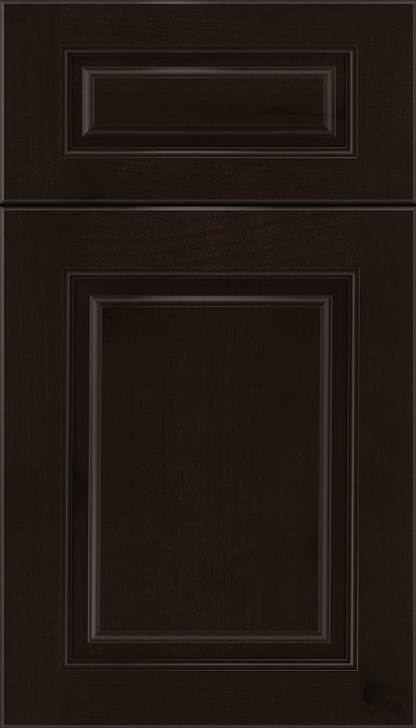Marquis 5pc Alder raised panel cabinet door in Espresso