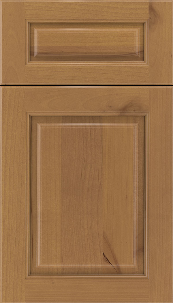Marquis 5pc Alder raised panel cabinet door in Ginger