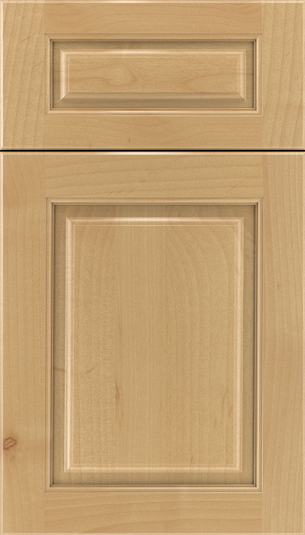 Marquis 5pc Alder raised panel cabinet door in Natural