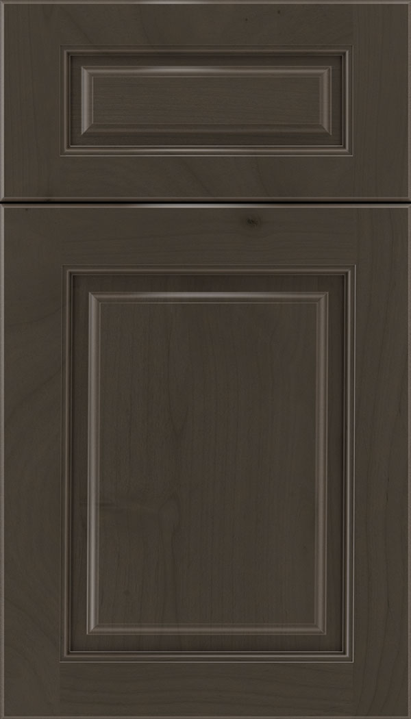 Marquis 5pc Alder raised panel cabinet door in Thunder