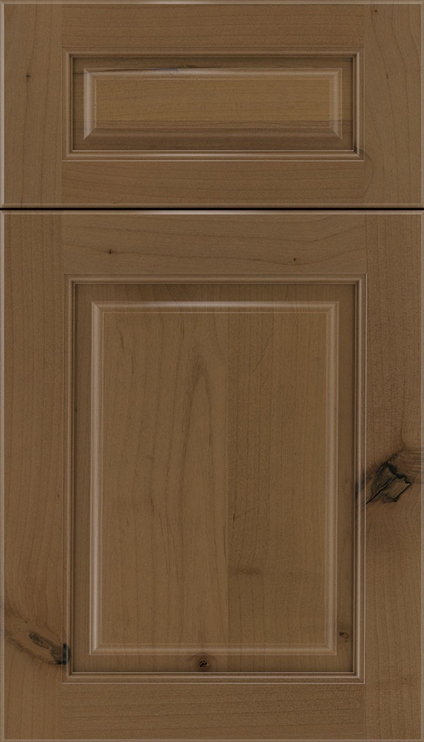 Marquis 5pc Alder raised panel cabinet door in Tuscan