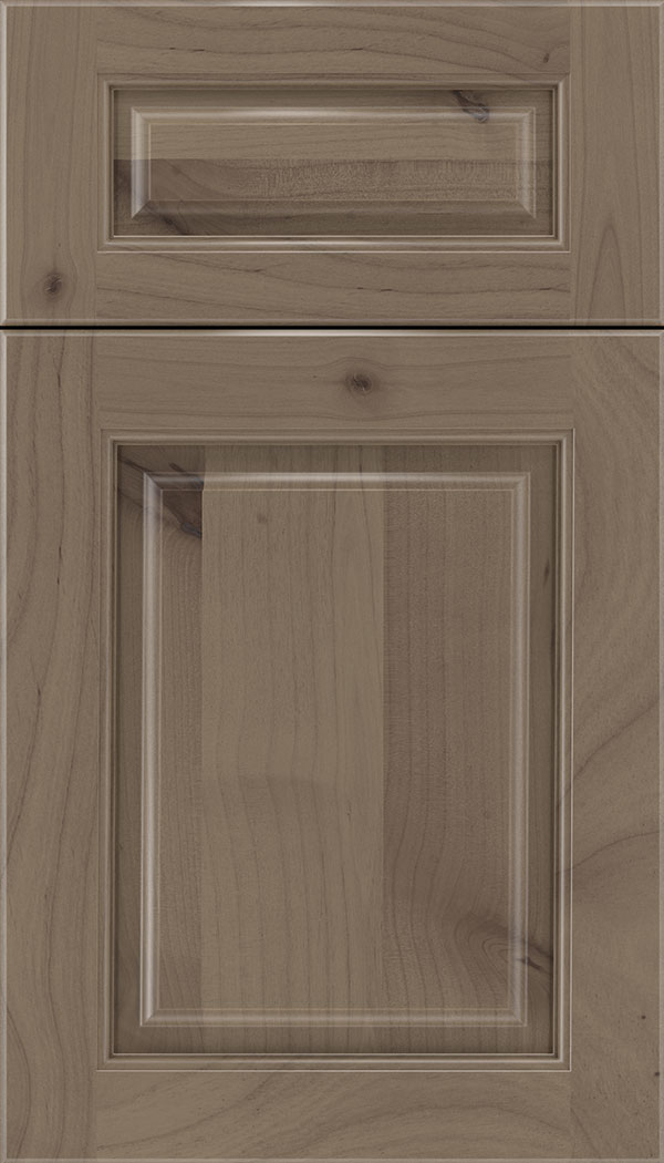 Marquis 5pc Alder raised panel cabinet door in Winter