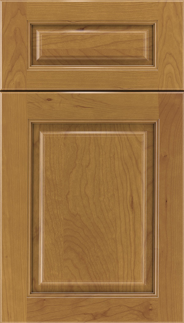 Marquis 5pc Cherry raised panel cabinet door in Ginger
