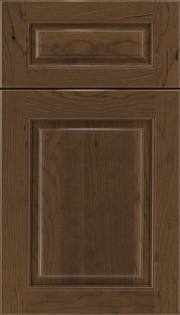 Marquis 5pc Cherry raised panel cabinet door in Sienna