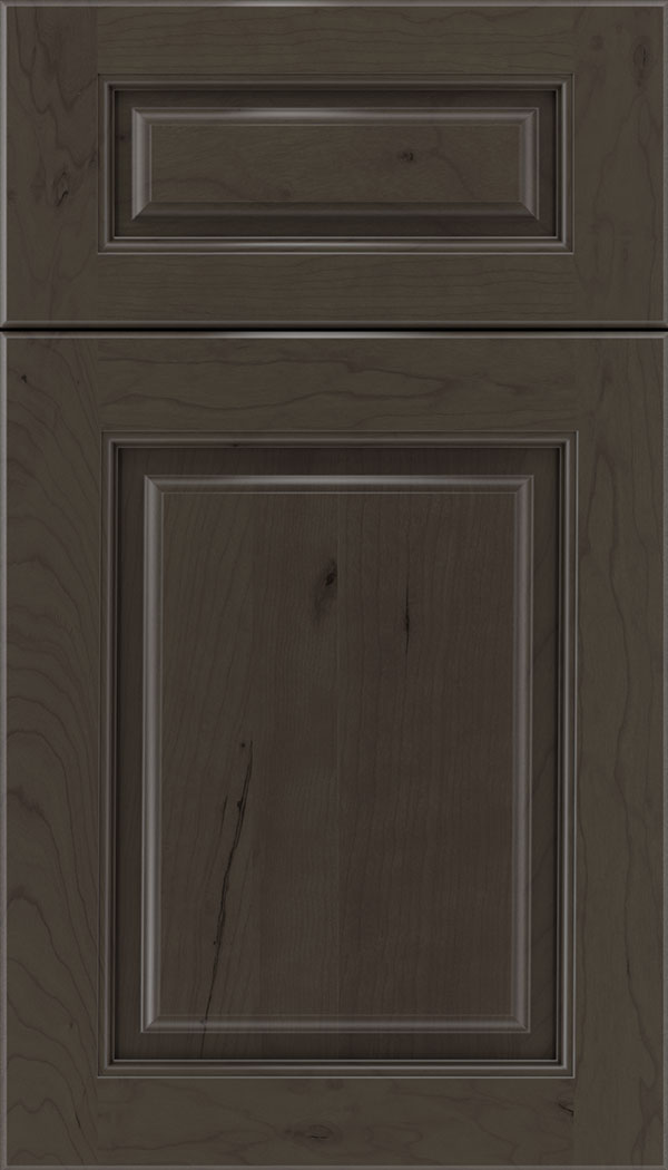 Marquis 5pc Cherry raised panel cabinet door in Thunder