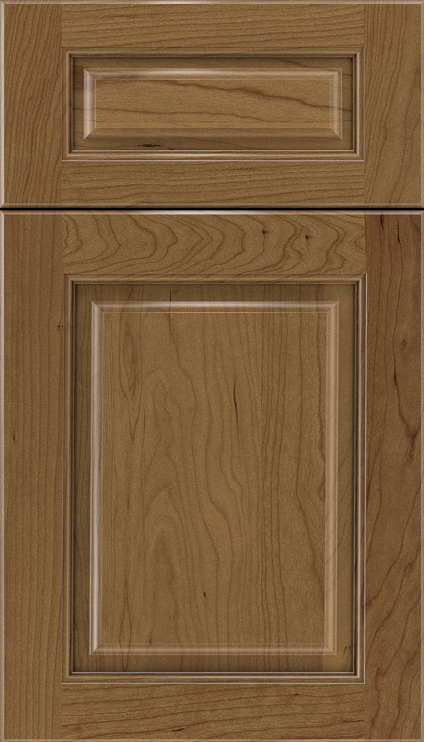 Marquis 5pc Cherry raised panel cabinet door in Tuscan