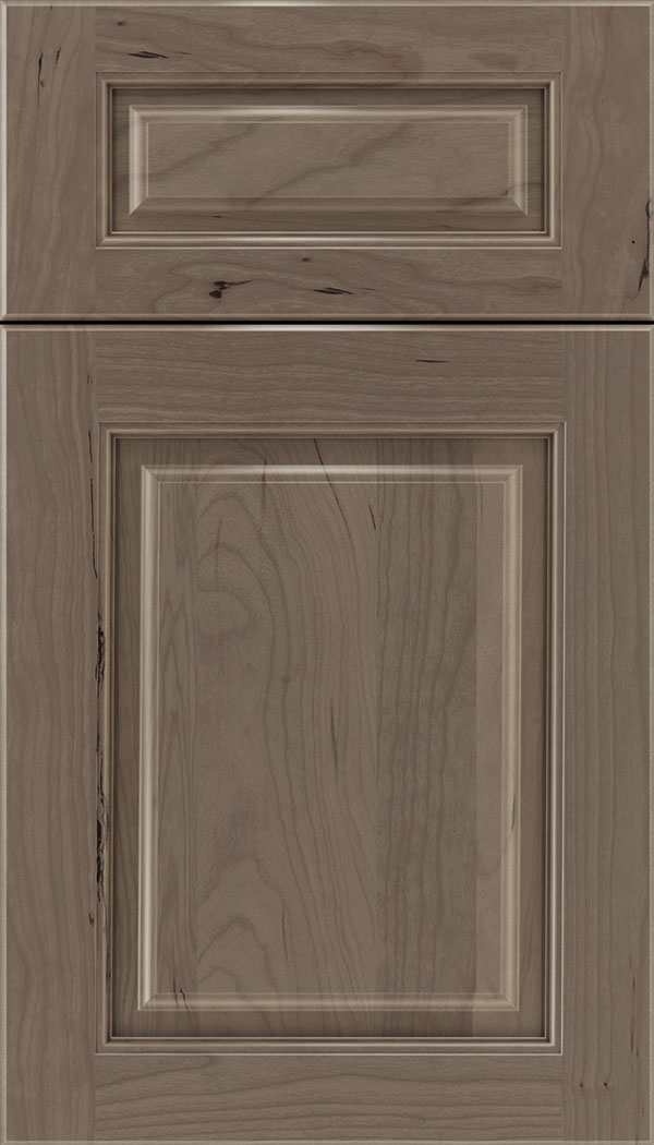 Marquis 5pc Cherry raised panel cabinet door in Winter