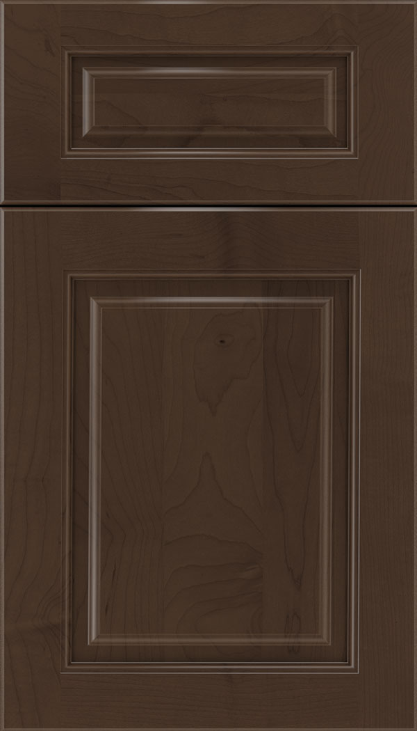 Marquis 5pc Maple raised panel cabinet door in Cappuccino
