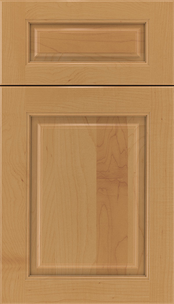 Marquis 5pc Maple raised panel cabinet door in Ginger