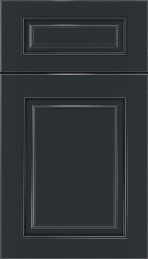 Marquis 5pc Maple raised panel cabinet door in Gunmetal Blue