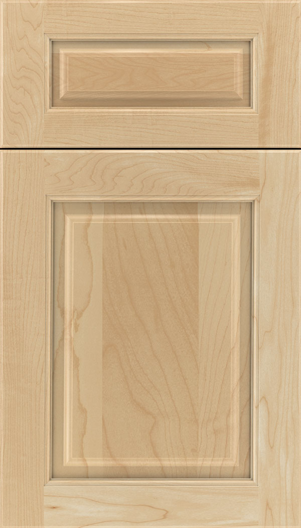 Marquis 5pc Maple raised panel cabinet door in Natural
