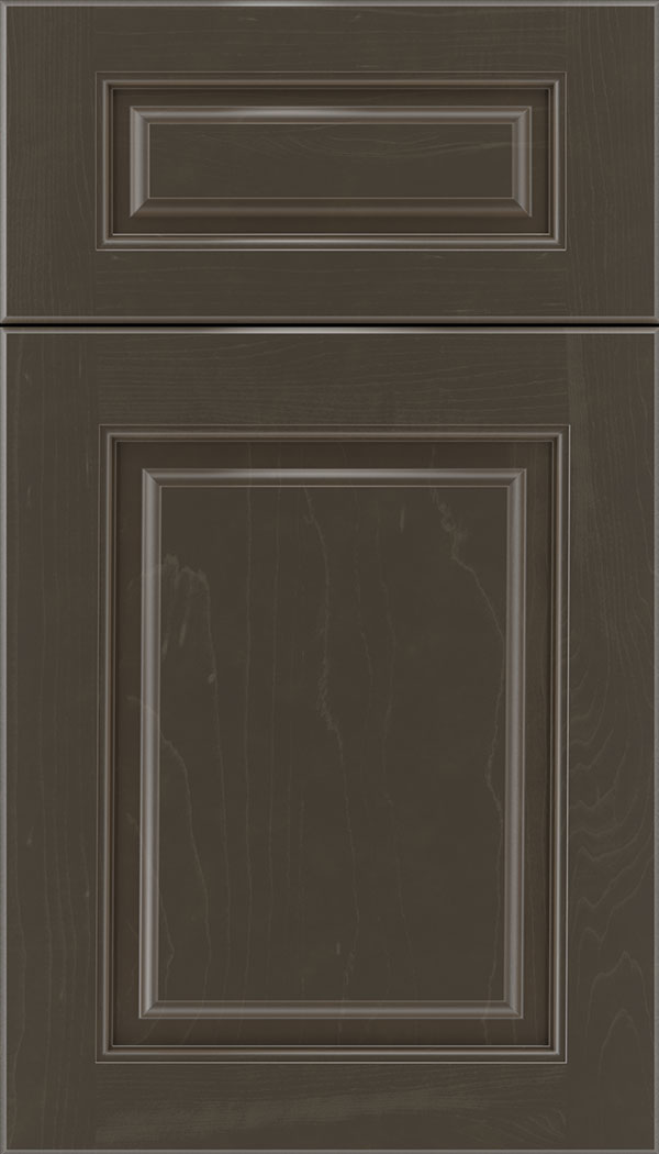 Marquis 5pc Maple raised panel cabinet door in Thunder