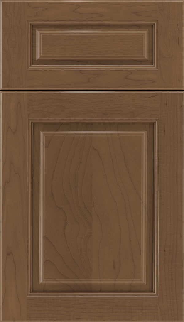 Marquis 5pc Maple raised panel cabinet door in Toffee