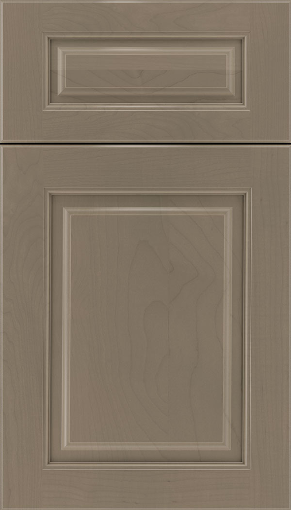 Marquis 5pc Maple raised panel cabinet door in Winter