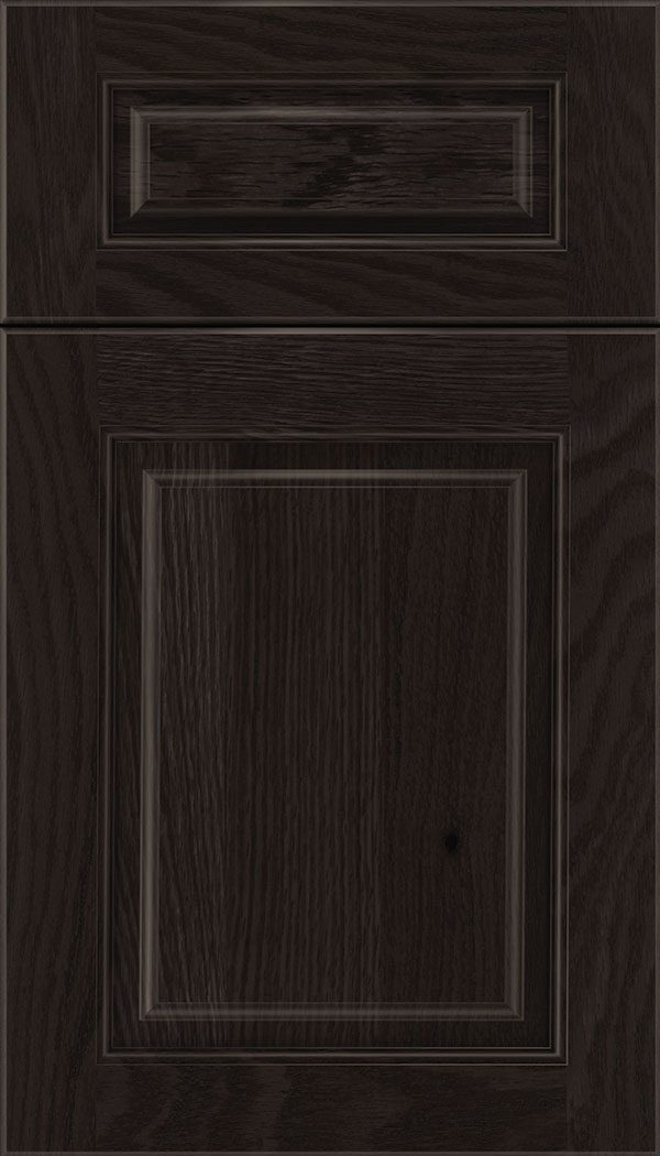 Marquis 5pc Oak raised panel cabinet door in Charcoal