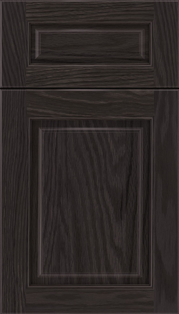 Marquis 5pc Oak raised panel cabinet door in Espresso