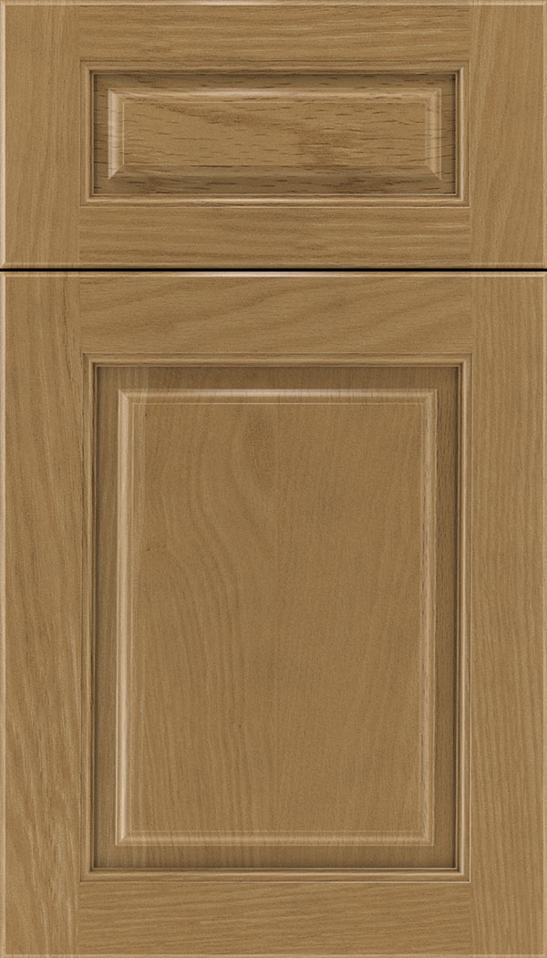 Marquis 5pc Oak raised panel cabinet door in Tuscan