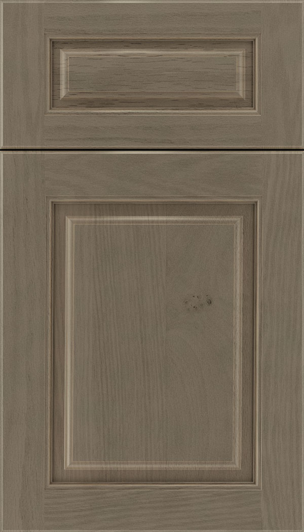 Marquis 5pc Oak raised panel cabinet door in Winter