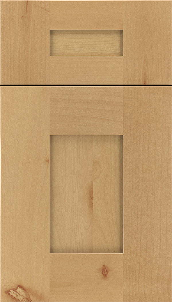 Newhaven 5pc Alder shaker cabinet door in Natural