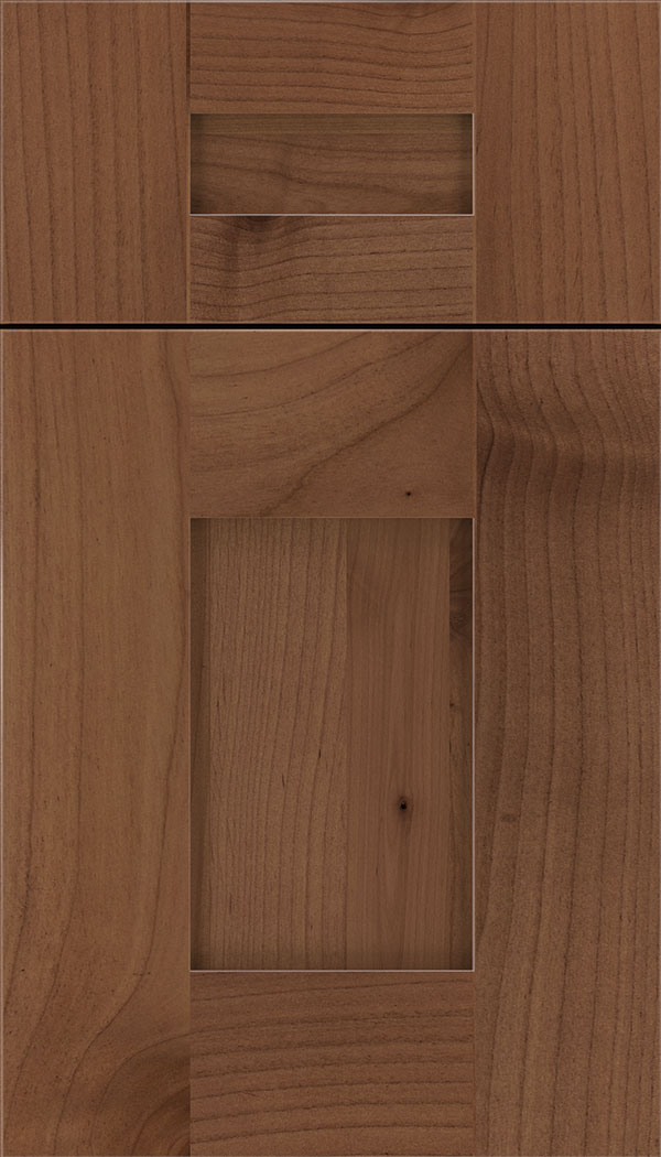Newhaven 5pc Alder shaker cabinet door in Nutmeg