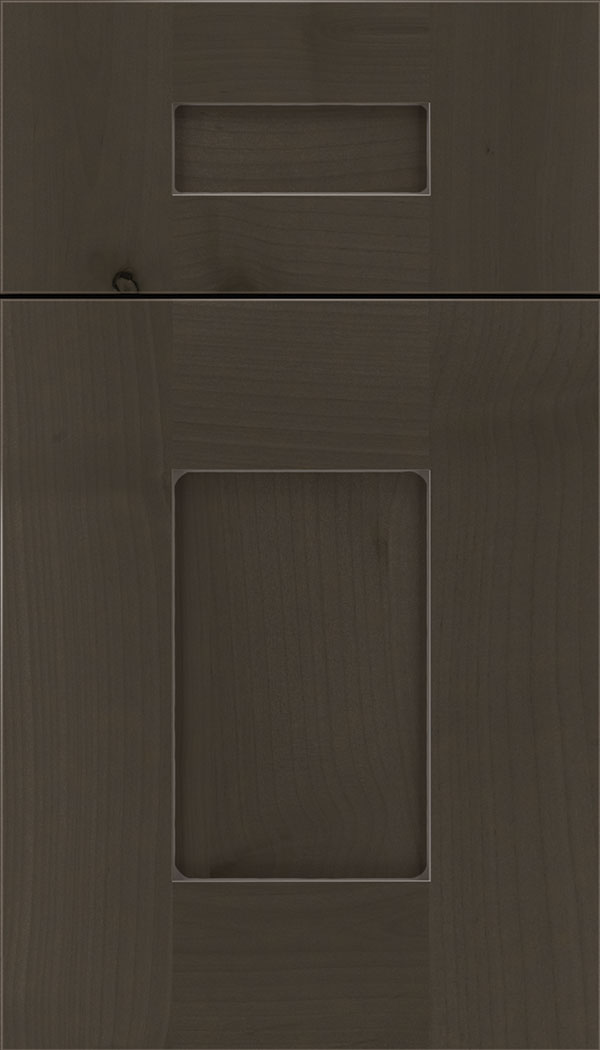 Newhaven 5pc Alder shaker cabinet door in Thunder with Pewter glaze