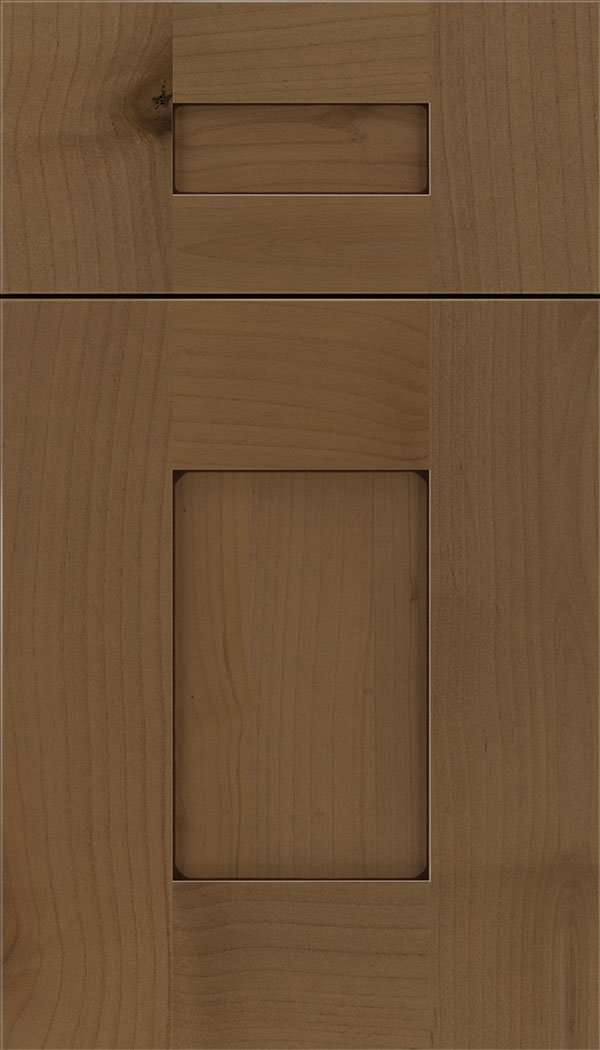 Newhaven 5pc Alder shaker cabinet door in Tuscan with Mocha glaze