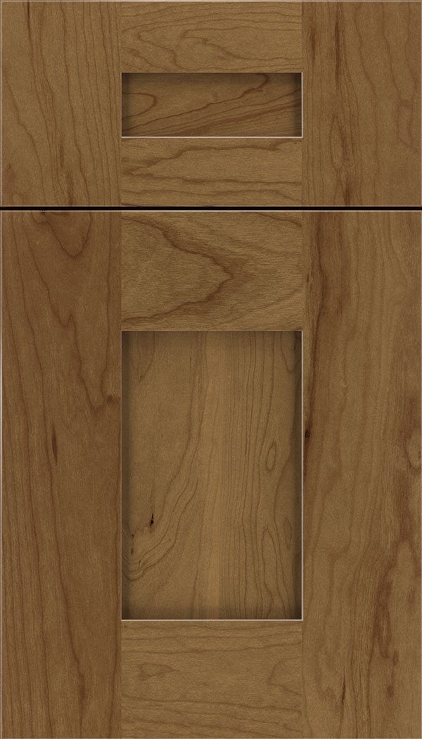Newhaven 5pc Cherry shaker cabinet door in Tuscan