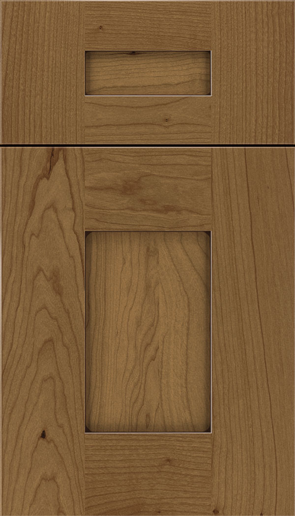 Newhaven 5pc Cherry shaker cabinet door in Tuscan with Mocha glaze