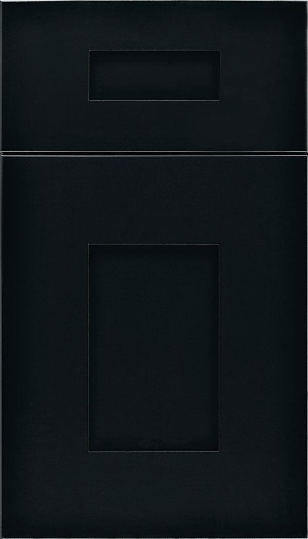 Newhaven 5-Piece Maple shaker cabinet door in Black