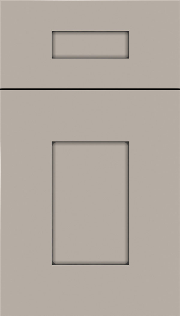 Newhaven 5pc Maple shaker cabinet door in Nimbus with Pewter glaze
