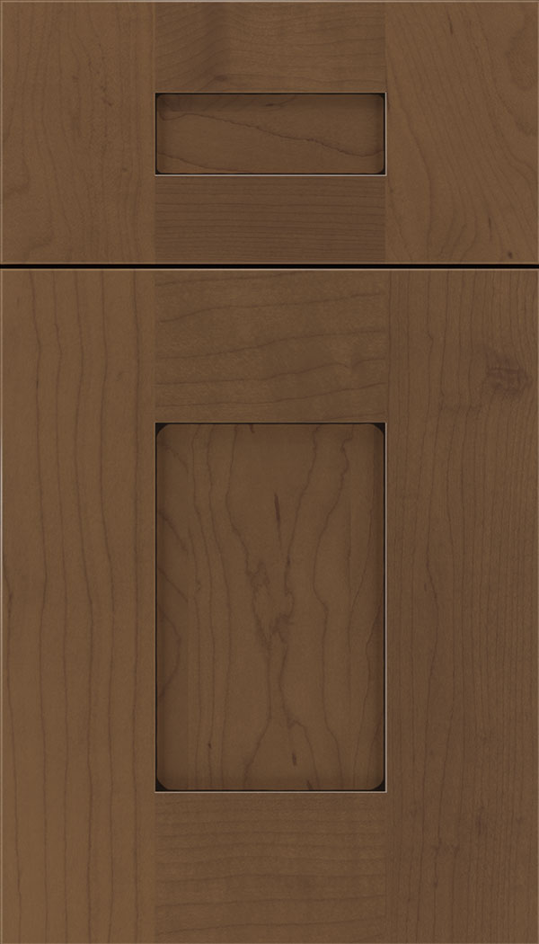 Newhaven 5pc Maple shaker cabinet door in Toffee with Black glaze