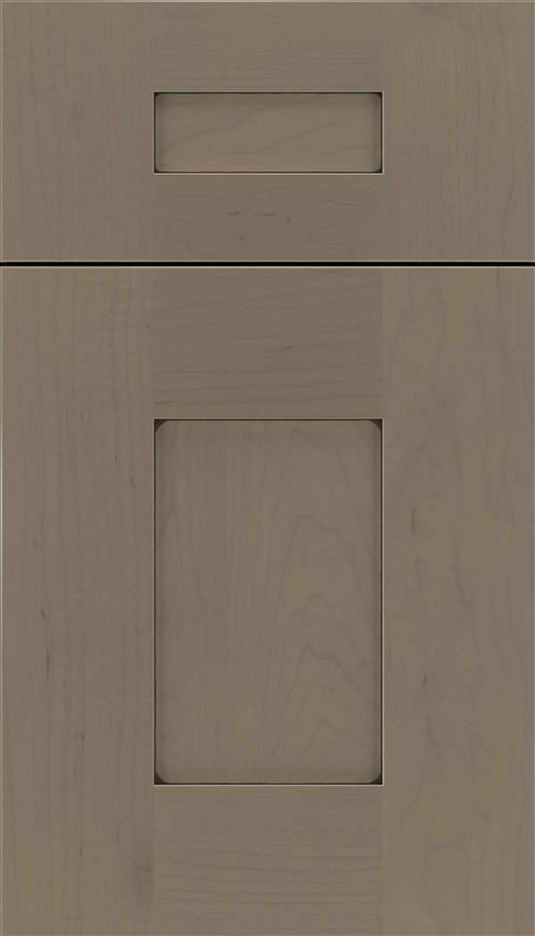 Newhaven 5pc Maple shaker cabinet door in Winter with Black glaze
